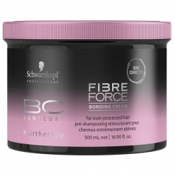 Schwarzkopf BC Fibre Force Bonding Cream - Укрепляющий крем, 500 мл