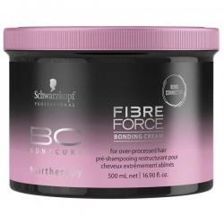 Schwarzkopf BC Fibre Force Bonding Cream - Укрепляющий крем, 500 мл