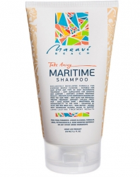 Maravi Beach Take Away MariTime Shampoo - Бессульфатный шампунь для регулярного применения, 150 мл
