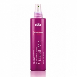 Lisap Milano 3-lisap ultimate straight fluid - Флюид разглаживающий термо-защищающий для волос 250мл