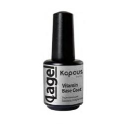 Kapous Lagel Vitamin Base Coat - Укрепляющее базовое покрытие 15 мл