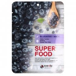 Eyenlip  Super Food Blueberry Mask - Маска на тканевой основе с экстрактом черники, 23 мл