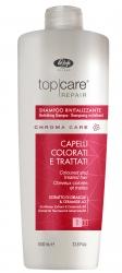 Lisap Milano Top Care Repair Chroma Care Revitalizing Shampoo - Шампунь оживляющий для окрашенных волос, 1000мл