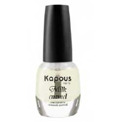 Kapous Hilac Milk Enamel - Укрепляющее базовое покрытие 12 мл