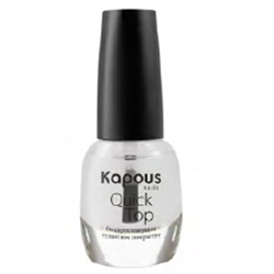 Kapous Hilac Quick Top - Защитное покрытие с эффектом сушки 12 мл