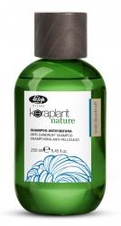 Lisap Milano Keraplant Nature Anti-Dandruff Shampoo - Шампунь очищающий для волос против перхоти с экстрактом африканского перца, 100мл