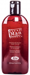 Lisap Milano Man Densifying  Shampoo for Normal Hair - Шампунь укрепляющий для нормальных волос, для мужчин, 250мл
