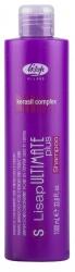 Lisap Milano S-lisap ultimate plus taming shampoo for straight and curly hair - Шампунь с разглаживающим действием для гладких или вьющихся волос 1000мл