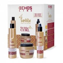 Echos Line Curl Kit - Подарочный набор, 350+500+200 мл
