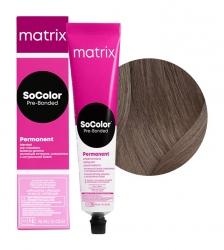 Matrix SoColor Pre-Bonded - Крем-краска перманентная Соколор Бьюти 6N темный блондин 90 мл