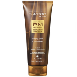 Bamboo Smooth Anti-Frizz PM Overnight Smoothing Treatment - Шаг 1: Ночной разглаживающий уход, 125 мл