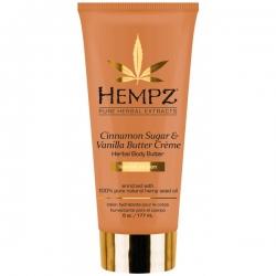 Hempz Body Cinnamon Sugar & Vanilla Butter Creme Herbal Body Butter - Крем питательный для тела Корица и Ваниль 177мл
