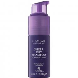 Alterna Caviar Anti-aging Sheer Dry Shampoo - Сухой шампунь для волос, 34 мл