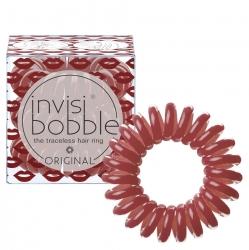 Invisibobble Original Marilyn Monred - Резинка для волос утонченный красный, 3 шт