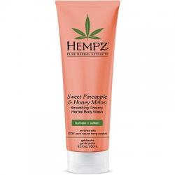 Hempz Sweet Pineapple Honey Melon Herbal Body Wash - Гель для душа Ананас Медовая Дыня, 250 мл