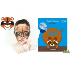 Berrisom Animal Mask raccoon - Маска для лица с экстрактом плаценты, Енот