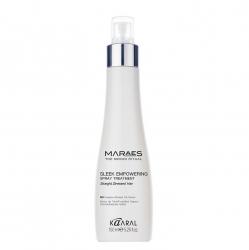 Kaaral Maraes Sleek Empowering Spray Treatment - Восстанавливающий спрей для прямых поврежденных волос 150 мл