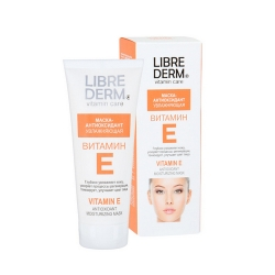 Librederm - Маска-антиоксидант увлажняющая с витамином Е, 75 мл