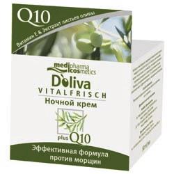 Doliva Vitalfrisch Q10  - Крем «Ночной уход» против морщин, 50 мл