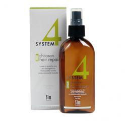 Sim Sensitive System 4 Therapeutic Chitosan Hair Repair R - Терапевтический спрей «R» для восстановления всех типов волос 200 мл