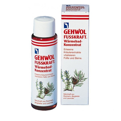 Gehwol Fusskraft Warming Bath Concentrate - Согревающая ванна 150 мл