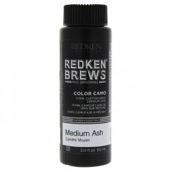 Redken Brews Color Camo 4NA Medium Ash - Камуфляж седины 4NA Средний пепельный, 60 мл