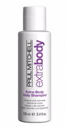 Paul Mitchell Extra-Body Daily Shampoo - Объемообразующий шампунь для тонких волос 100 мл