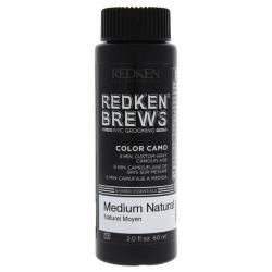 Redken Brews Color Camo 5N Medium Natural - Камуфляж седины 5N Средний натуральный, 60 мл