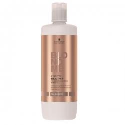 Schwarzkopf BlondMe Keratin Restore Bonding Shampoo All Blondes - Бондинг-шампунь кератиновое восстановление для волос блонд, 1000 мл