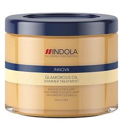 Indola Glamorous Oil Treatment – Восстанавливающая смываемая маска «Чарующее сияние» 200 мл