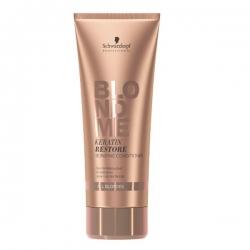 Schwarzkopf BlondMe Keratin Restore Bonding Conditioner - Бондинг-кондиционер кератиновое восстановление для волос блонд, 200 мл