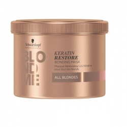 Schwarzkopf BlondMe Keratin Restore Bonding Mask - Бондинг-маска Кератиновое восстановление, 500 мл