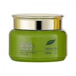 Deoproce Premium Green Tea Total Solution Cream - Крем на основе зеленого чая, 100 мл