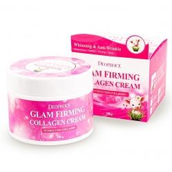 Deoproce Moisture Glam Firming Collagen Cream -  Увлажняющий подтягивающий крем с коллагеном, 100 мл