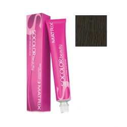 Matrix Socolor.beauty - Крем-краска перманентная Соколор Бьюти 505N светлый шатен 100% покрытие седины 90 мл