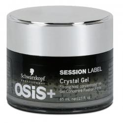 Schwarzkopf Osis Session Label Crystal Gel - Кристальный гель для укладки, 65 мл