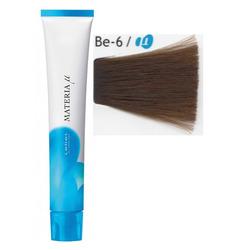 Lebel Cosmetics Materia µ - Полуперманентная краска для волос, BE6 тёмный блонд бежевый 80 гр