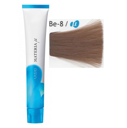 Lebel Cosmetics Materia µ - Полуперманентная краска для волос, BE8 светлый блонд бежевый 80 гр