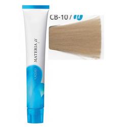 Lebel Cosmetics Materia μ Layfer - Полуперманентная краска для волос, CB10 яркий блонд холодный коричневый 80 гр