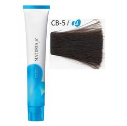Lebel Cosmetics Materia µ - Полуперманентная краска для волос, CB5 светлый шатен холодный 80 гр