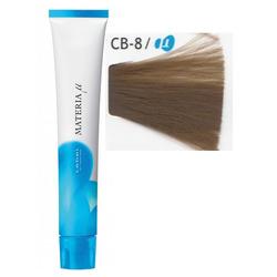Lebel Cosmetics Materia µ - Полуперманентная краска для волос, CB8 светлый блонд холодный 80 гр