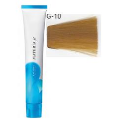 Lebel Cosmetics Materia µ - Полуперманентная краска для волос, G10 яркий блонд желтый 80 гр