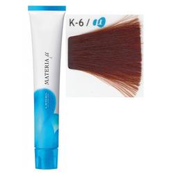 Lebel Cosmetics Materia µ - Полуперманентная краска для волос, K6 тёмный блонд медный 80 гр