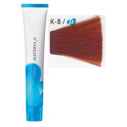 Lebel Cosmetics Materia µ - Полуперманентная краска для волос, K8 светлый блонд медный 80 гр