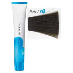 Lebel Cosmetics Materia µ - Полуперманентная краска для волос, M6 тёмный блонд матовый 80 гр