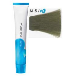 Lebel Cosmetics Materia µ - Полуперманентная краска для волос, M8 светлый блонд матовый 80 гр