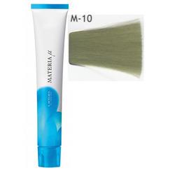 Lebel Cosmetics Materia µ - Полуперманентная краска для волос, M10 яркий блонд матовый 80 гр