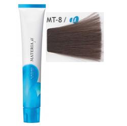 Lebel Cosmetics Materia µ - Полуперманентная краска для волос, MT8 светлый блонд металлик 80 гр