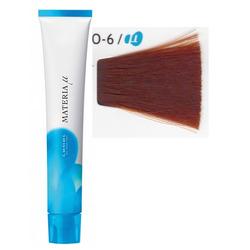 Lebel Cosmetics Materia µ - Полуперманентная краска для волос, O6 тёмный блонд медный 80 гр