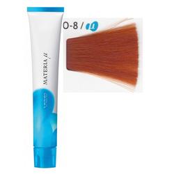 Lebel Cosmetics Materia µ - Полуперманентная краска для волос, O8 светлый блонд оранжевый 80 гр